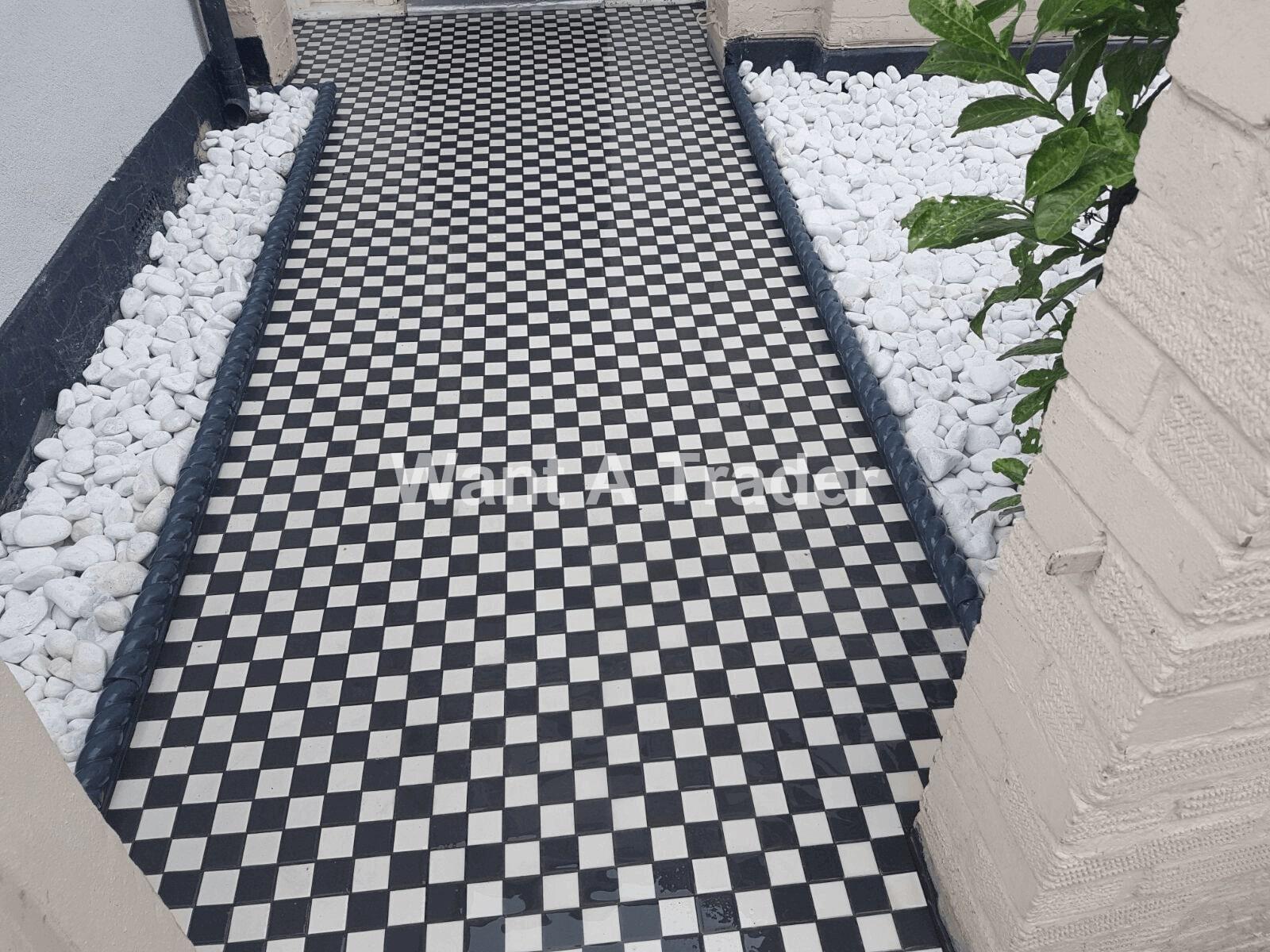 Garden Tiling Company Epsom KT19