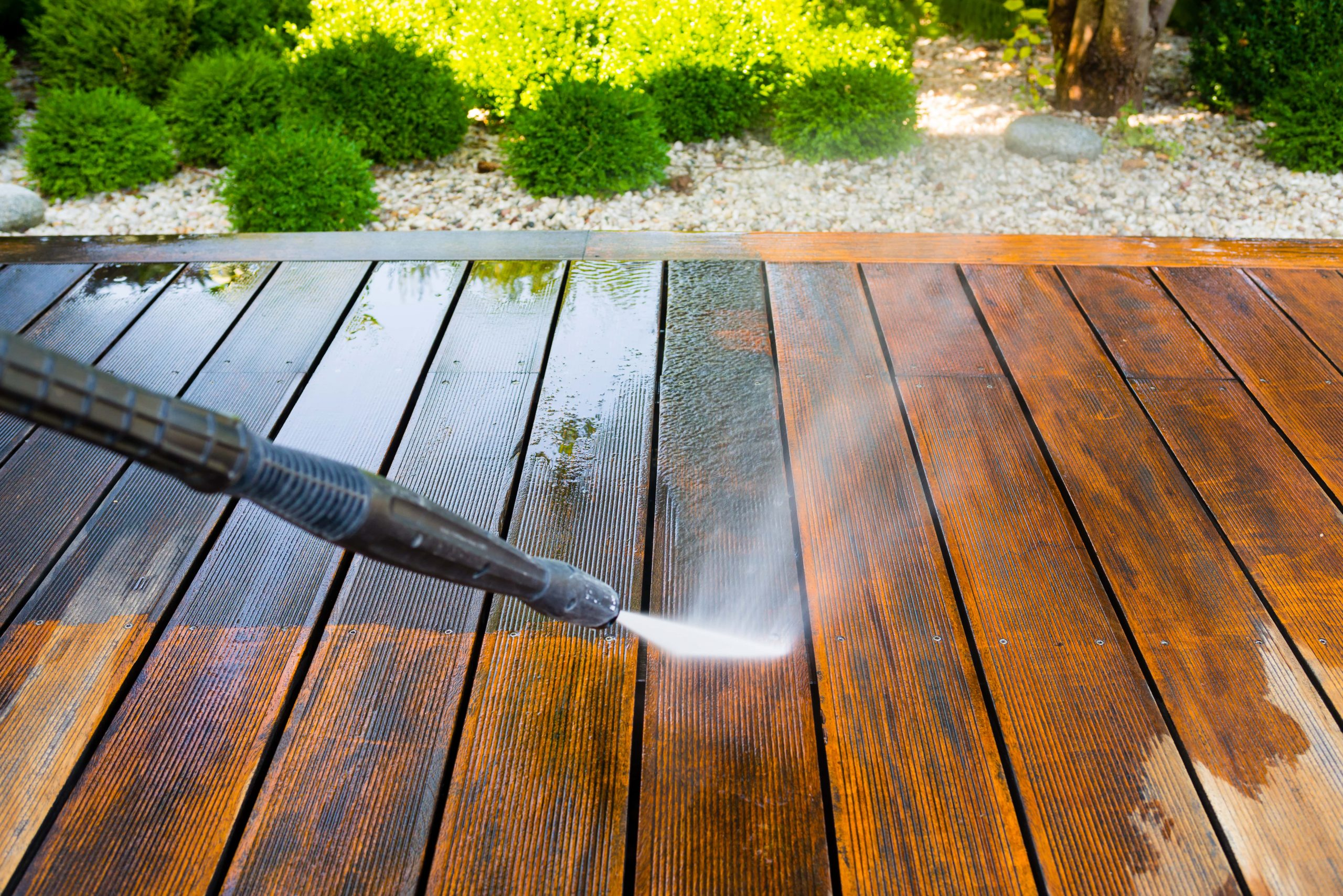 Garden Pressure Cleaning Company Epsom KT19