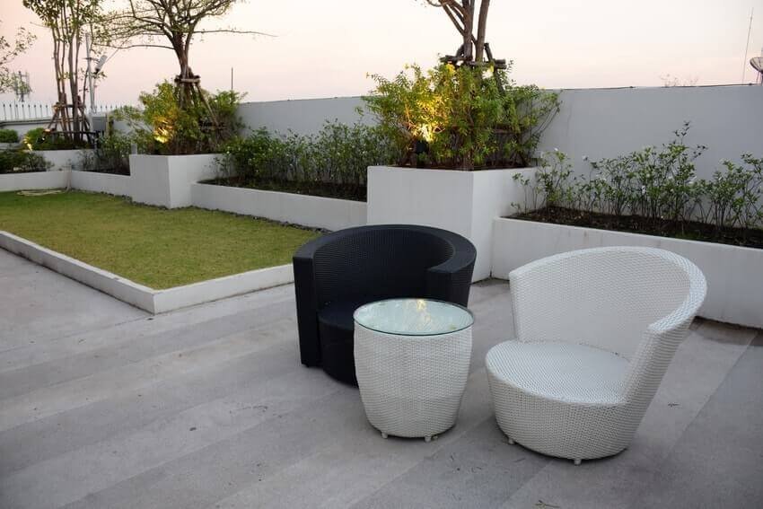 Garden Roof Terrace Installation Company Epsom KT19