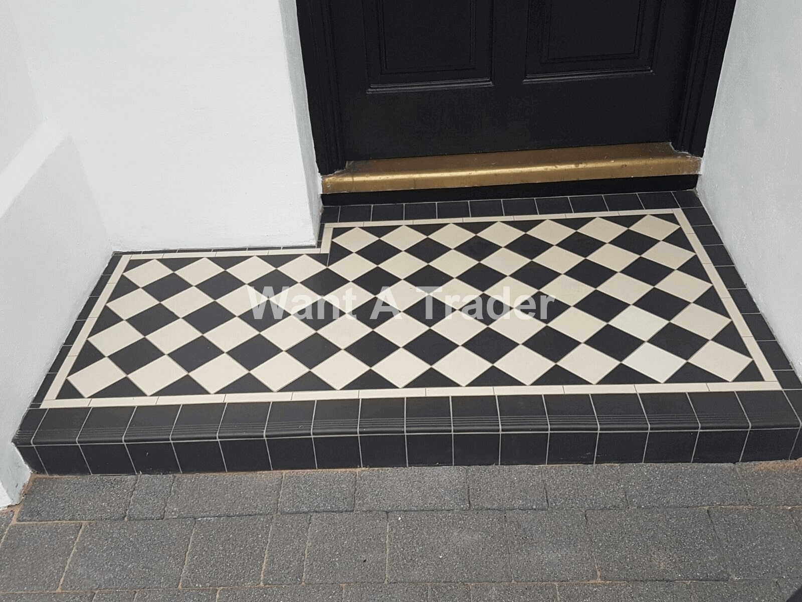 Victorian Garden Step Design and Installation Company Epsom KT19