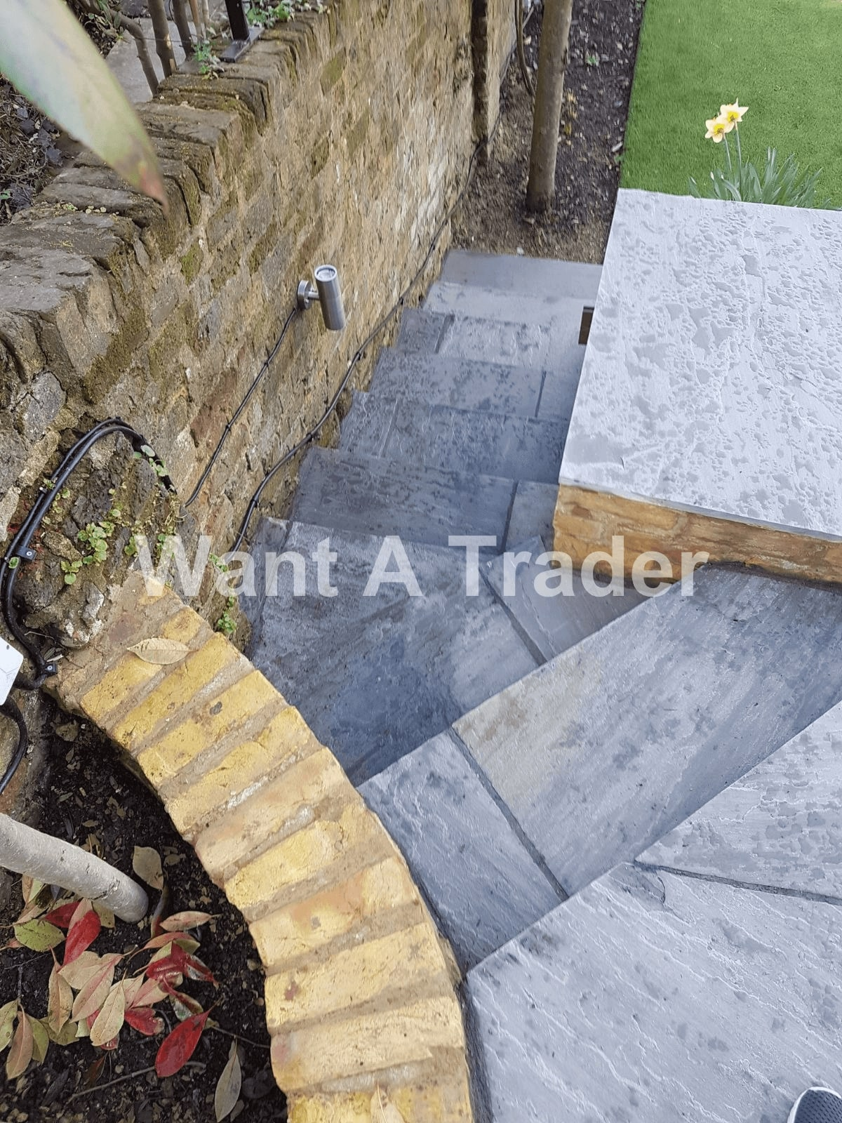 Garden Step Design and Installation Company Epsom KT19