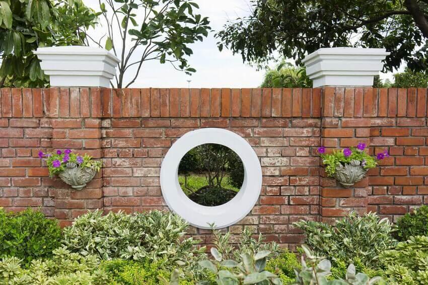Garden Brick Wall Builders Epsom KT19